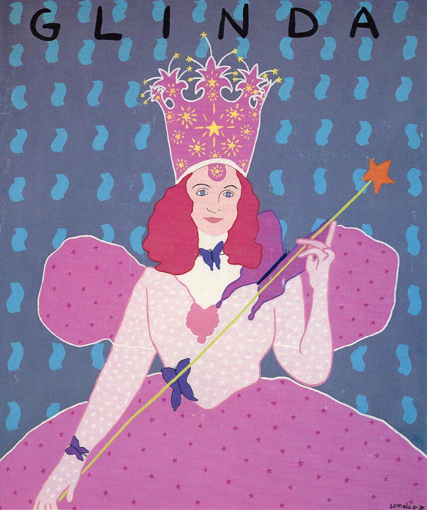 Glinda painting