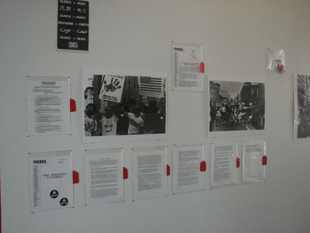 Photos of AIDS Conference