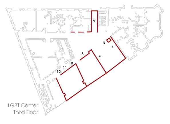 3rd Floor Common Area