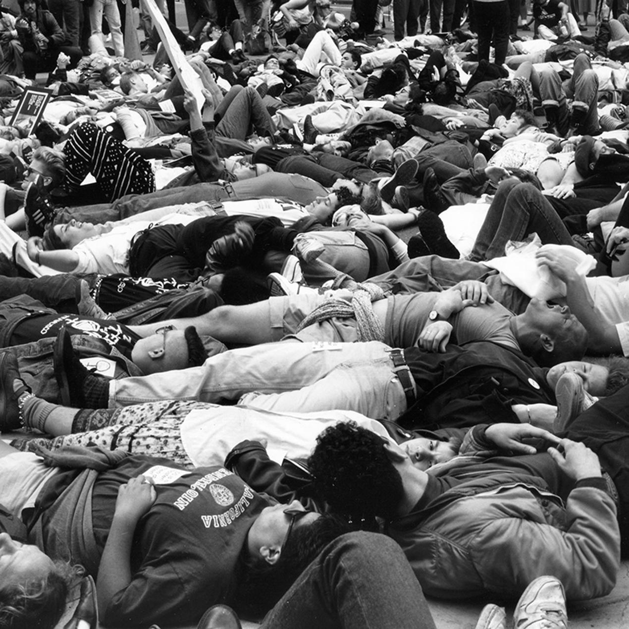 Die In 1991 photo by Rudy Lemcke