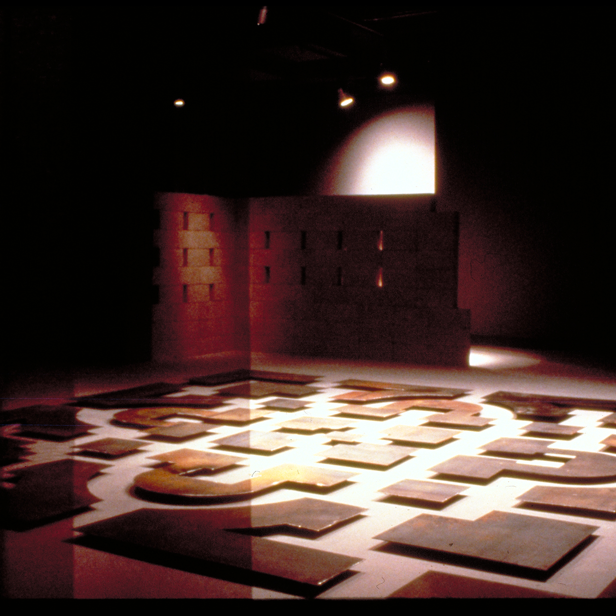 Il Danteum installation 1986