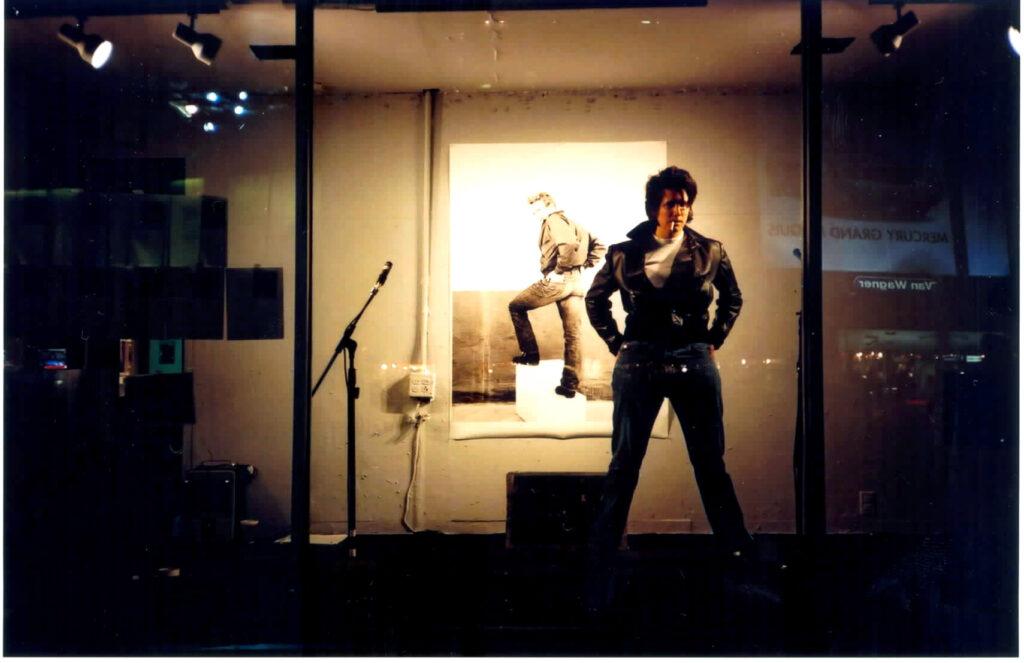 artist Steiner as James Dean
