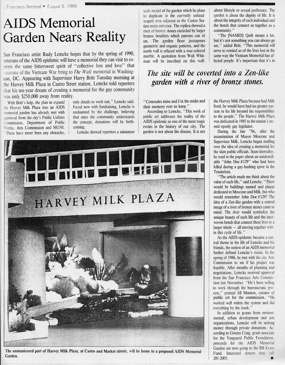 News Sentinal 1988
