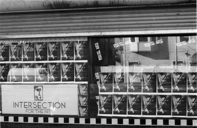 Image of Store Front with AIDS Installation