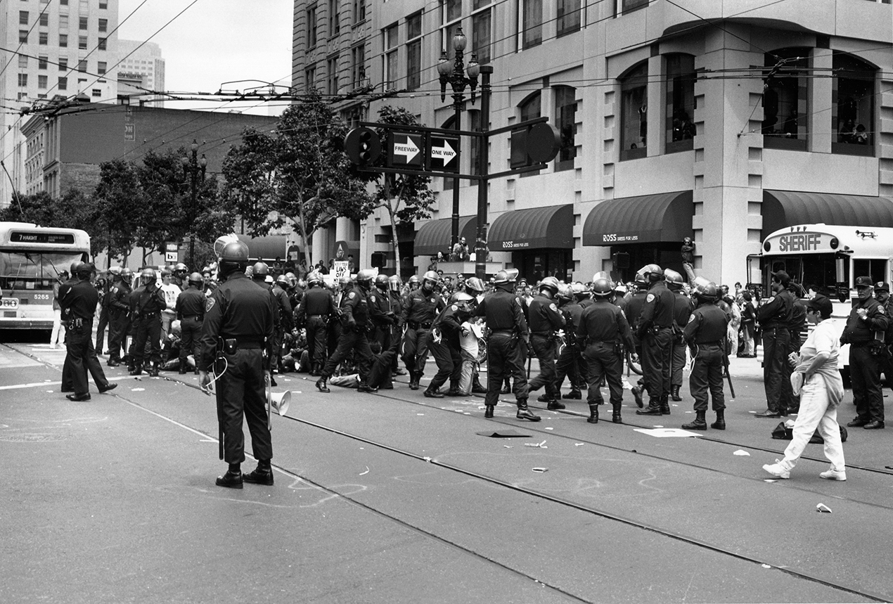 ACT UP Protest 1991