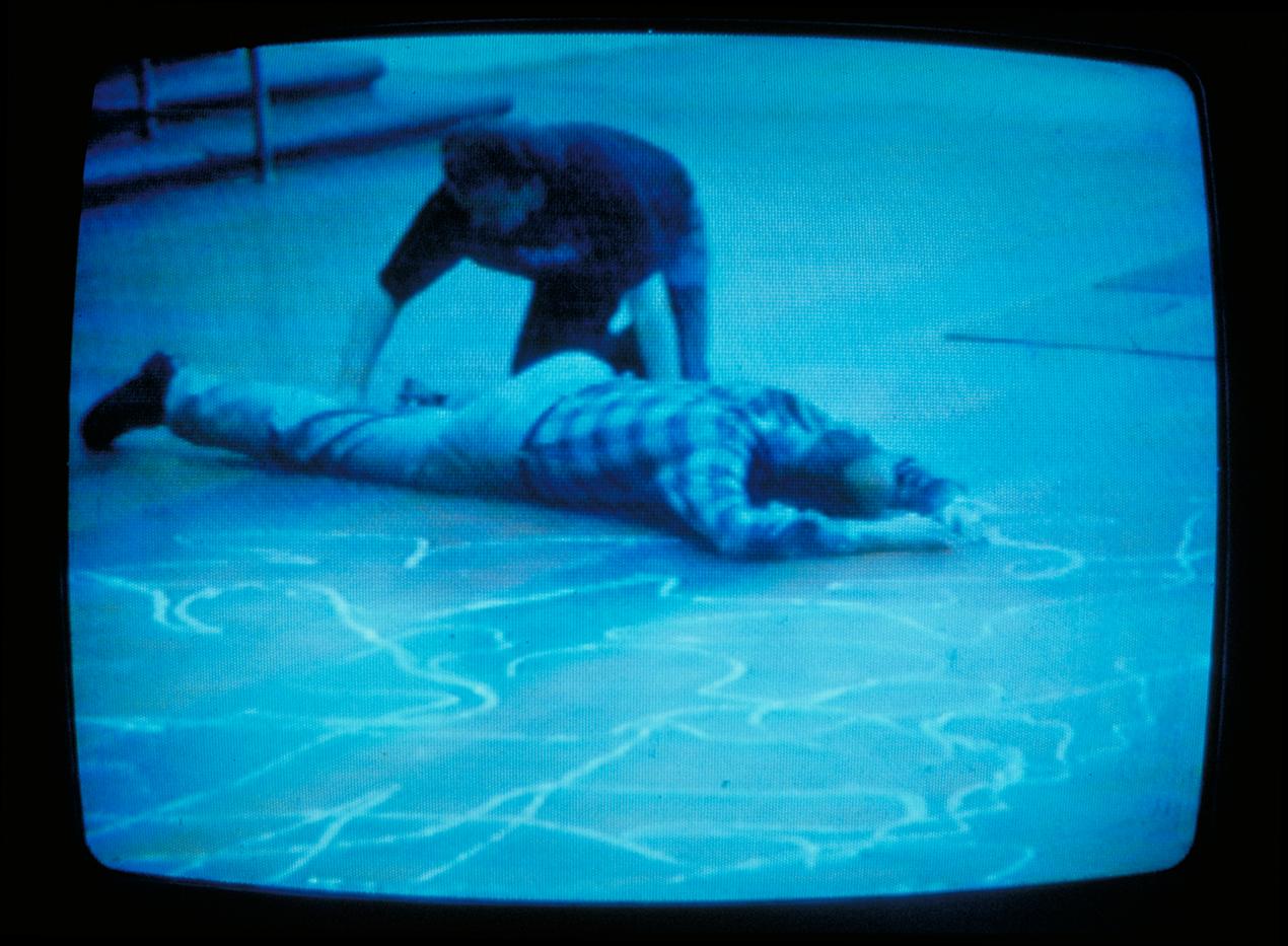 video grab of die in