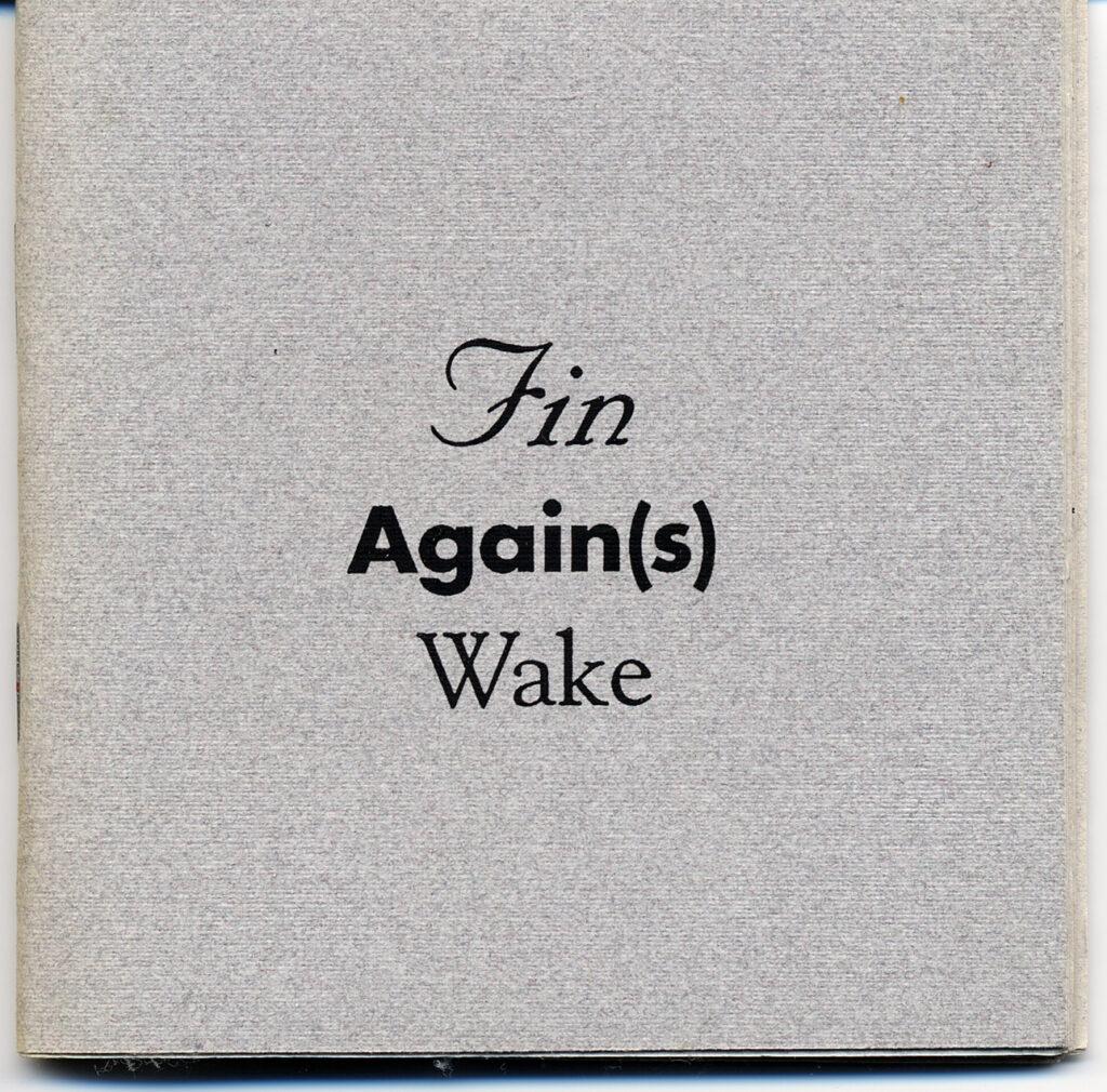 Fin Again(s) Wake book cover