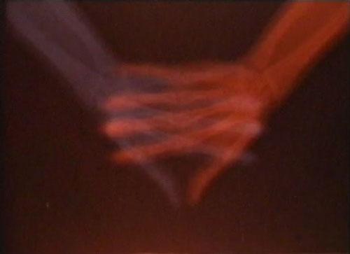 still from Barbara Hammer's film Santus