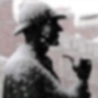 sherlock image remixed in Net Art project