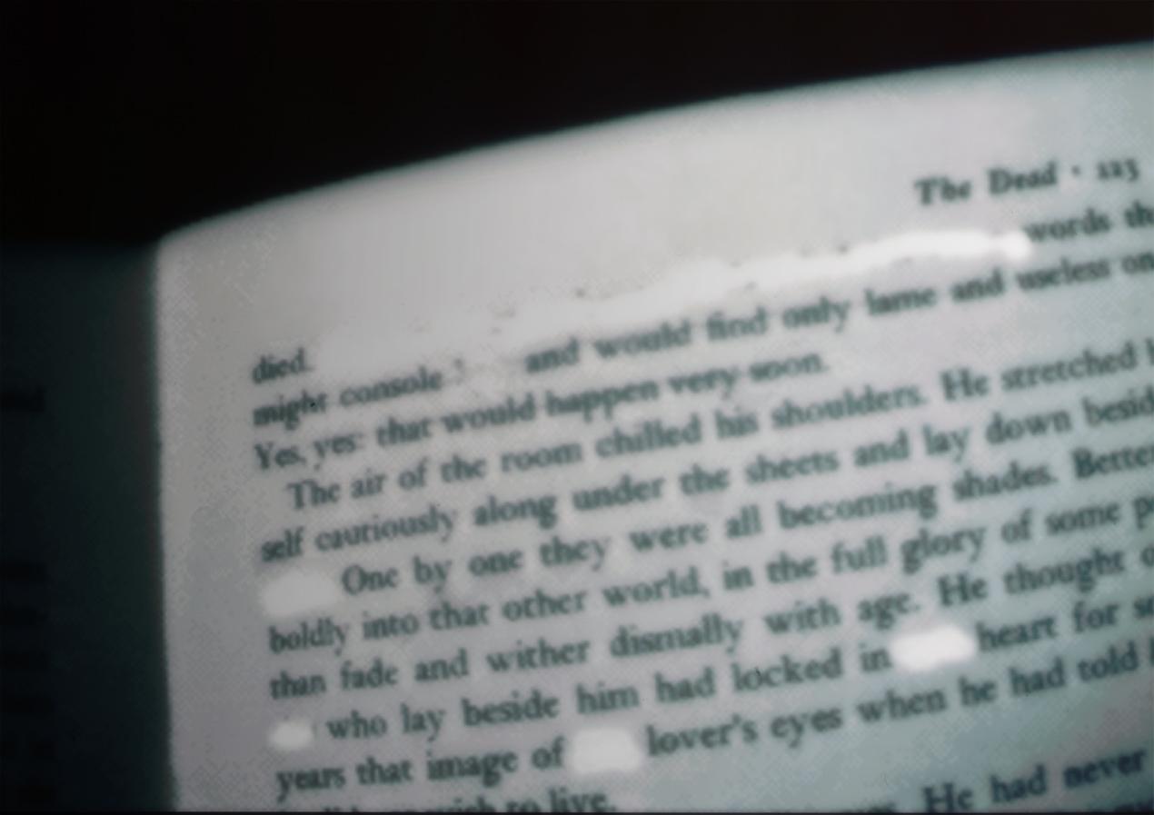 open book James Joyce