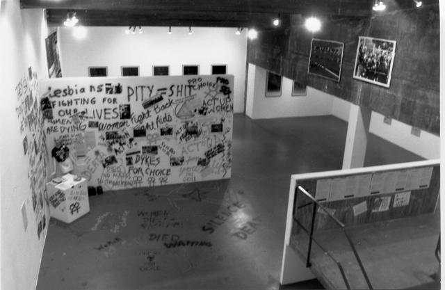 view of AIDS Exhibit